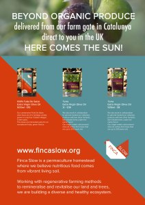 Finca Slow olive oil: a great Christmas gift!