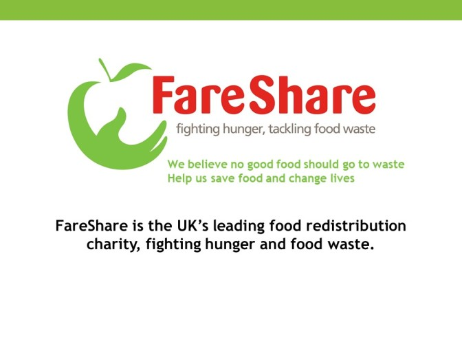 Fareshare food waste