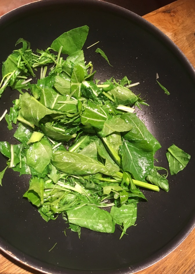 Winter Greens Trial update and fabulous traditional Japanese Fuyuna recipe