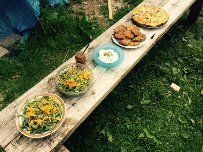 SAVE THE DATE:  Sunday 24th June.  Solstice Pick & Cook with Caroline Whiteman