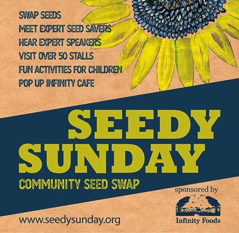 Seedy Sunday is two weeks away! Here's some more information about what's happening on the 3rd of February.