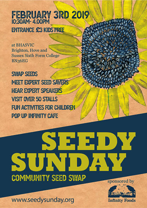 A round up of what's happening @ Seedy Sunday, 3rd February