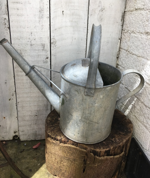 use a watering can