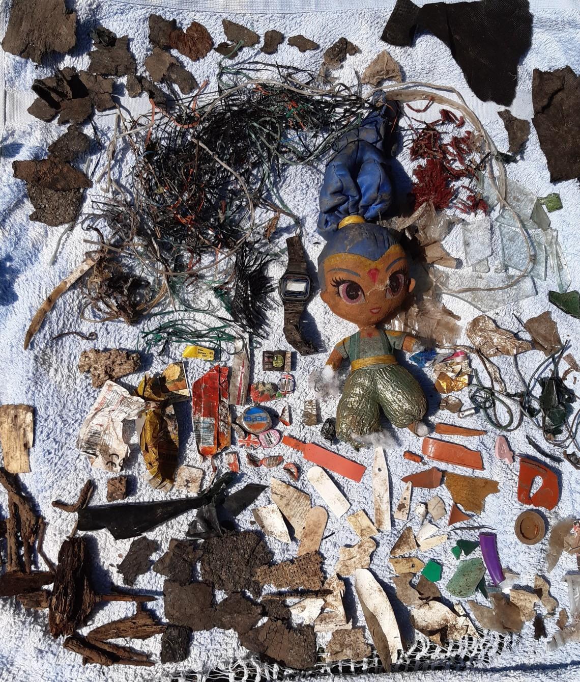 Brishba and her rubbish environment